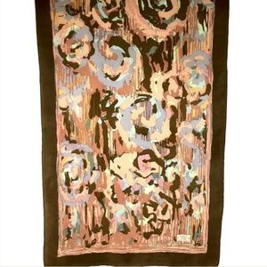 Liberty of London Silk Scarf Oblong Abstract